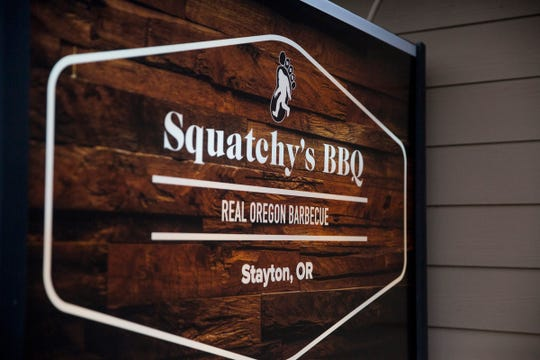 Squatchy's BBQ in Stayton on Saturday, Dec. 22, 2018. The restaurant closed after just a year.