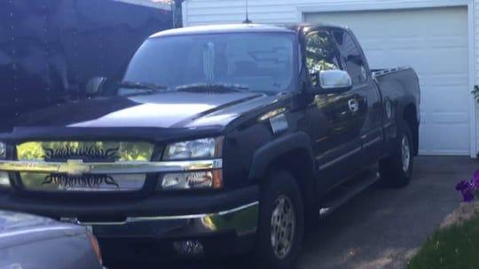 Paul Hitz's truck.