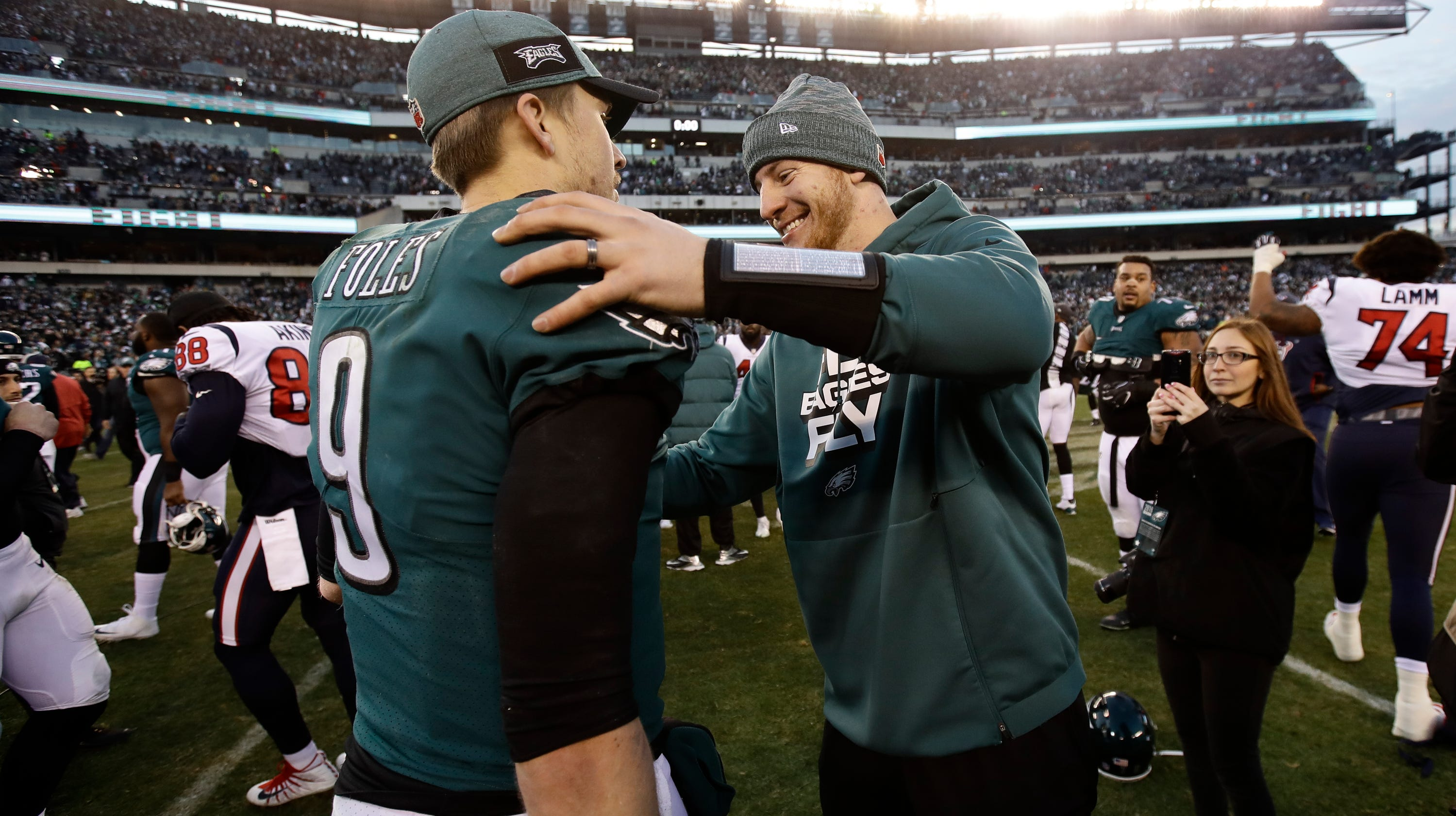 46695cf48bd Nick Foles to start for Eagles on Sunday; but what if Carson Wentz is ready  for playoffs?