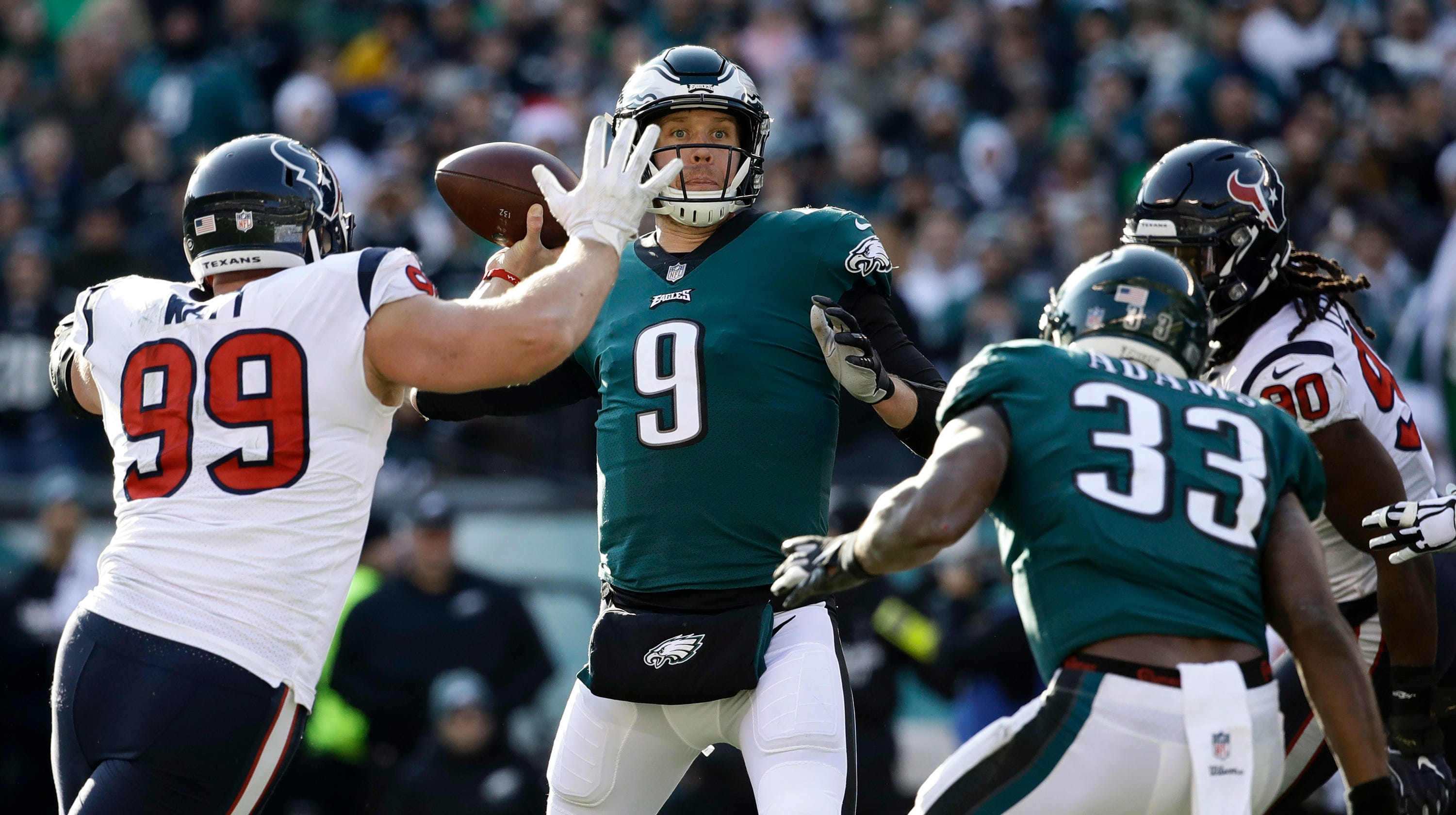 Tresolini  Foles is the gift that keeps on giving to Eagles a3b63a81f