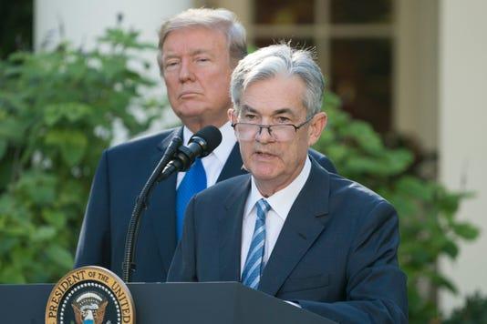 Epa Usa Trump Federal Reserve Nominee Pol Government Usa Dc