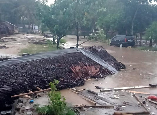 Epa Indonesia Tsunami Dis Failures In style Idn Ba