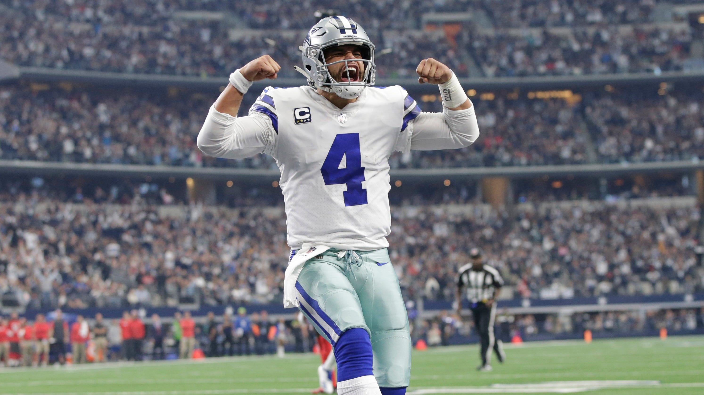 9065e5931 NFC Playoff Picture  Cowboys clinch NFC East  Eagles alive in wild card
