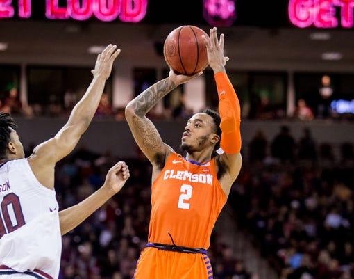 Ncaa Basketball Clemson At South Carolina