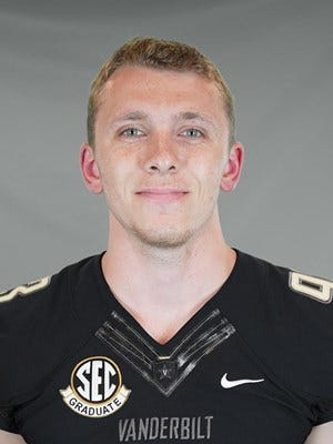 Hortonville graduate Parker Thome is the punter at Vanderbilt, which will play in the Texas Bowl against Baylor on Thursday.