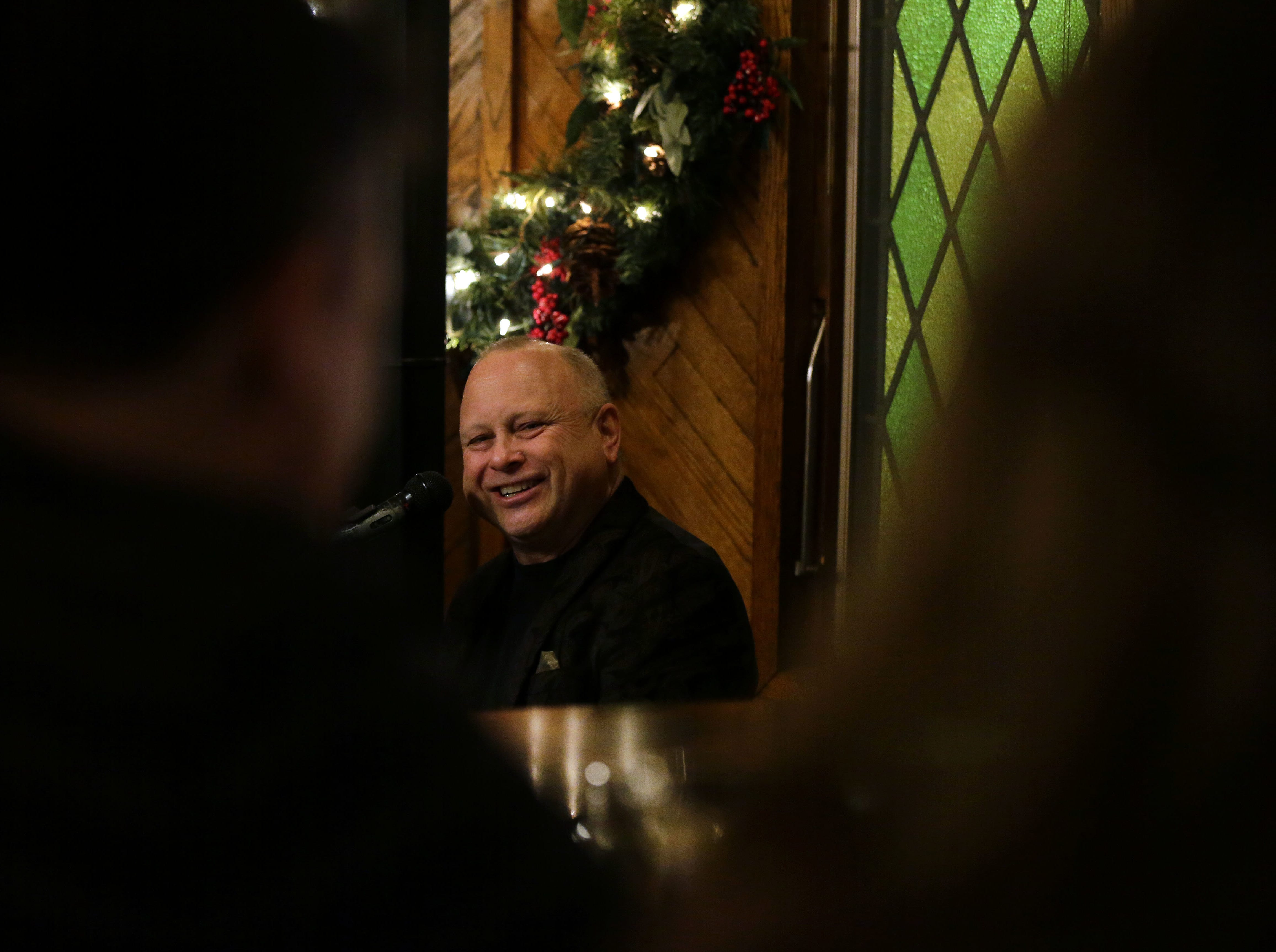For more than 35 years, Bill Steinert of Oshkosh has been a weekend fixture at George's Steak House in Appleton.