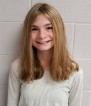 Ella Muha of Millstone Township Middle School won third place in the Student Voices Essay and Video Contest.