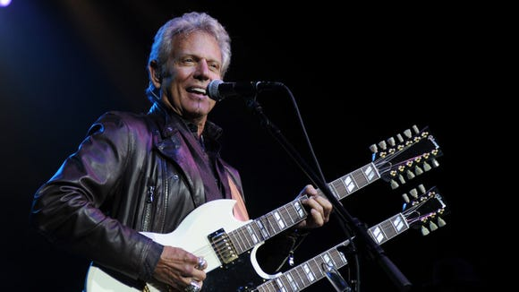 Ex-Eagle Don Felder plays the Admiral March 23.