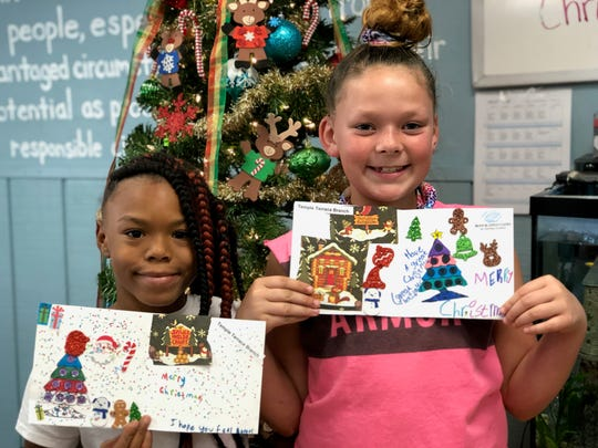 Children across Brevard recently channeled their creativity to boost the spirits of Hospice of Health First patients.