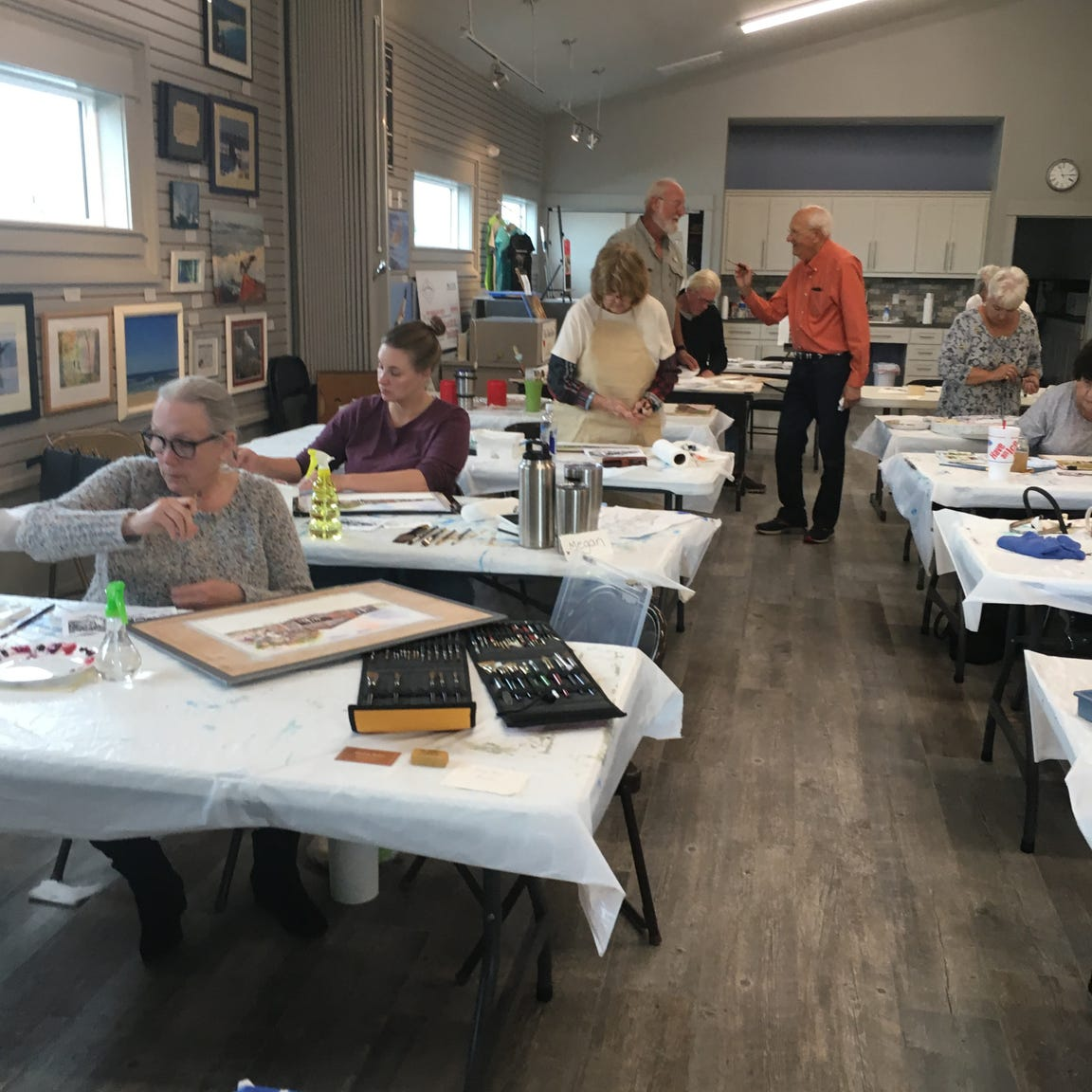 The Port Aransas Art Center offers classes in painting, drawing and more.