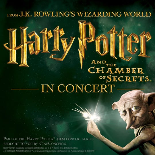 """Harry Potter"" in concert Dec. 28-30."