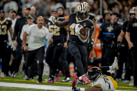 Nfl Pittsburgh Steelers At New Orleans Saints