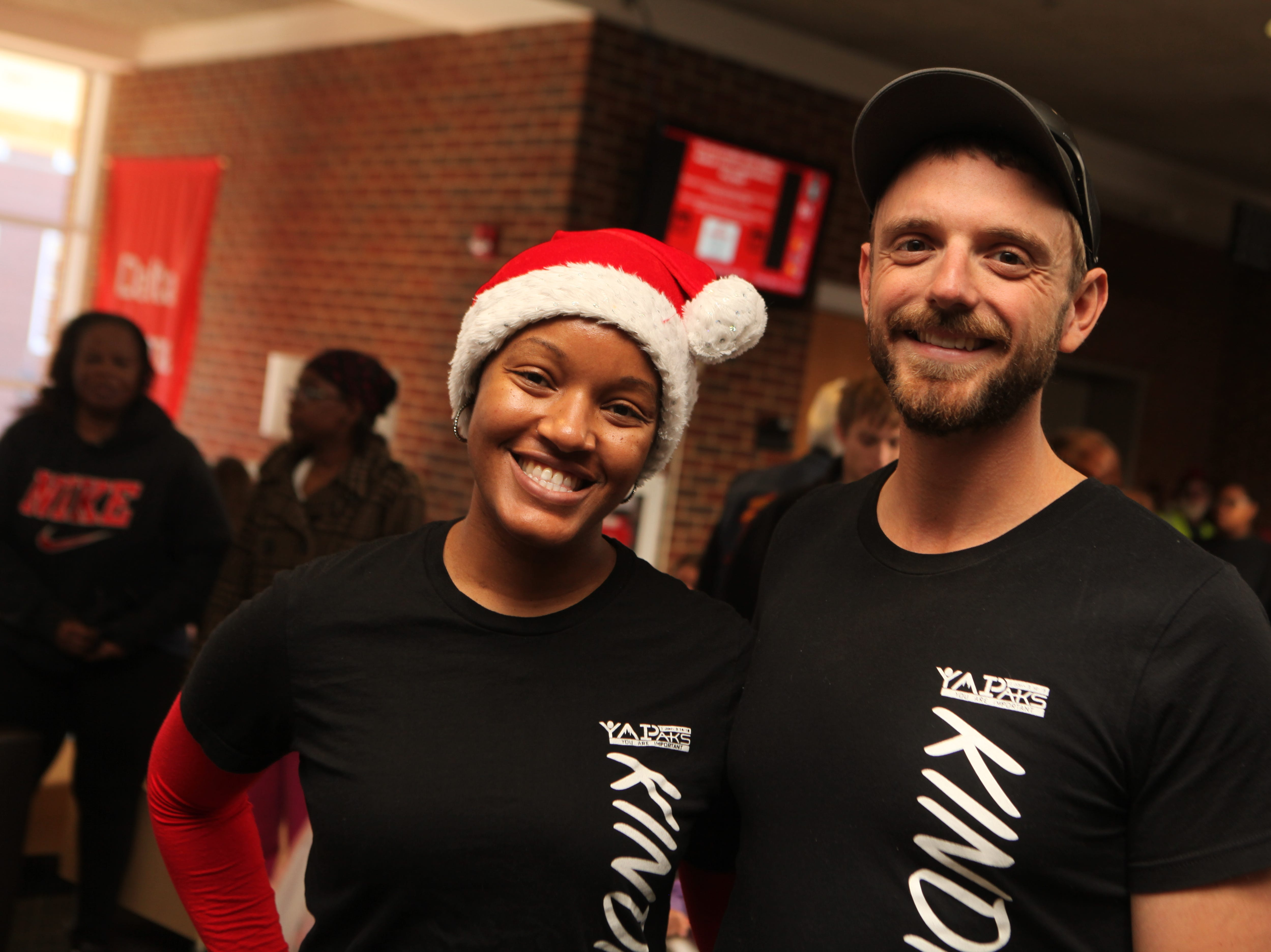 Hundreds attended Radical Mission's annual Warm Souls event at APSU's Morgan University Center on Christmas Eve, Dec. 24, 2018.