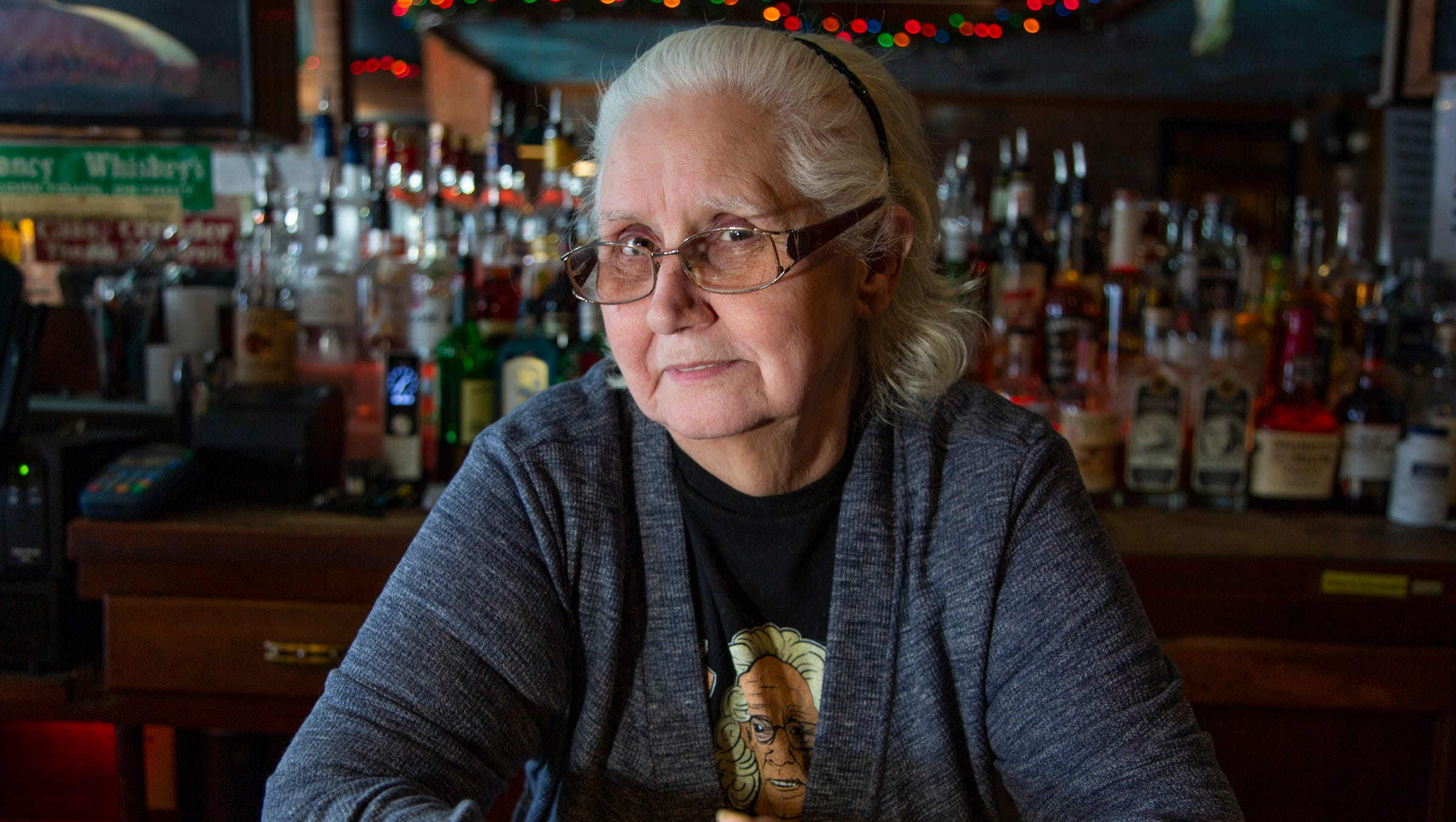 """Charleen Dexter, 69, of Detroit has been the """"Queen of the Bronx Bar"""" for 42-years. She will be retiring December 2018. The Free Press catches up with Dexter during one of her last days Tuesday Dec. 18, 2018."""