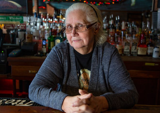 """Charleen Dexter, 69, of Detroit has been the """"Queen of the Bronx Bar"""" for almost 42 years. She will be retiring December 2018. The Free Press catches up with Dexter during one of her last days Tuesday Dec. 18, 2018."""