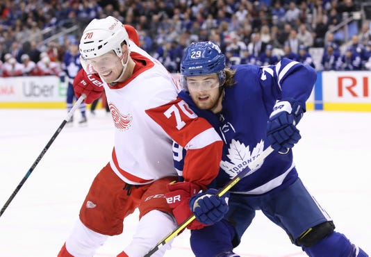 Nhl Detroit Red Wings At Toronto Maple Leafs