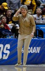 Central Michigan's Sue Guevara may unwrap another NCAA run.