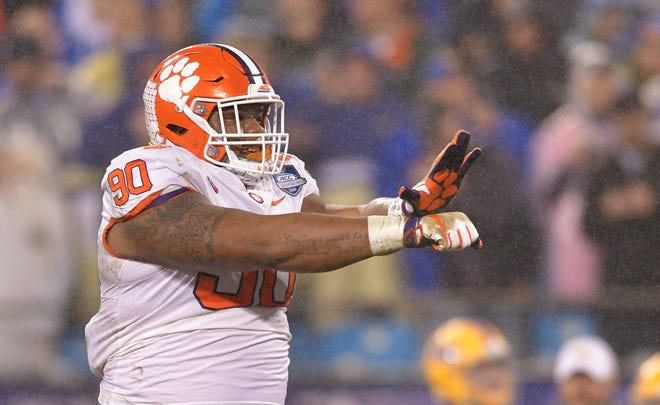 Dexter Lawrence is one of three Clemson players who tested positive for ostarine, which is used to treat osteoporosis but can also like an anabolic steroid.