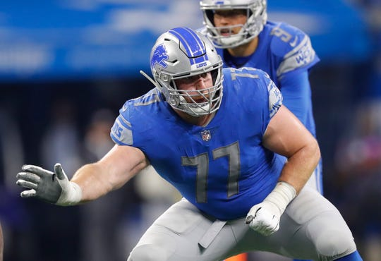 None of the experts projected Arkansas offensive guard Frank Ragnow going to the Lions at No. 20 in the first round of last year's NFL Draft.