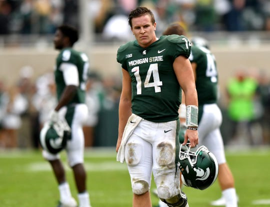 Best wishes for health, and a big bowl game, for Brian Lewerke.