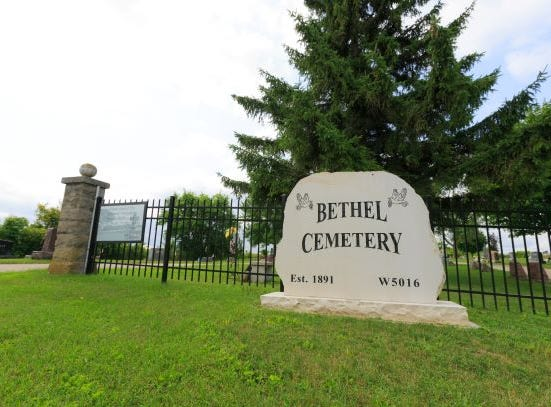 In 2015, the large stone at the entrance of the cemetery was donated by the family of Reverend Dr. Martin and Lavonne Koehler. A black decorative metal fence facing Brookside Road was put up in 2017 and funded by donations from families of loved ones buried at the cemetery.