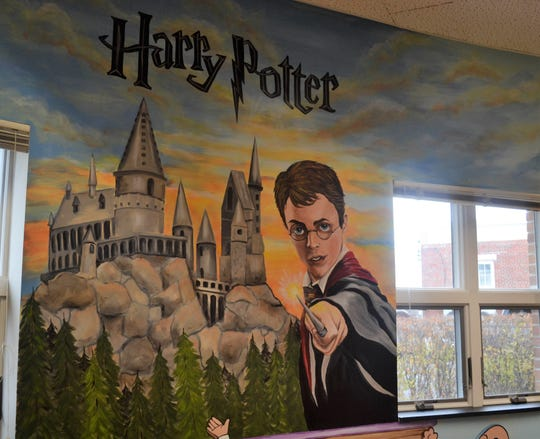Children visiting  Oak Harbor Public Library might just become entranced with Harry Potter.