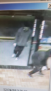 Threesuspects who unsuccessfully tried to rob a FortMyers convenience store at gunpoint are being sought by police.