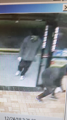 Three suspects who unsuccessfully tried to rob a Fort Myers convenience store at gunpoint are being sought by police.