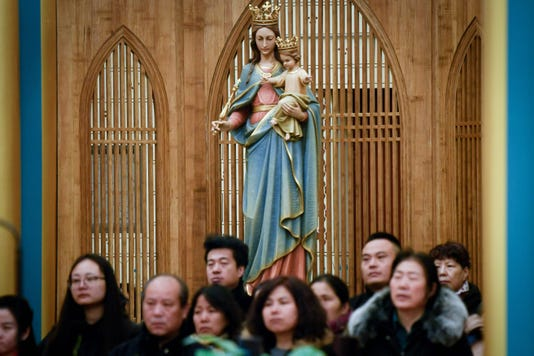 China Religion Christmas