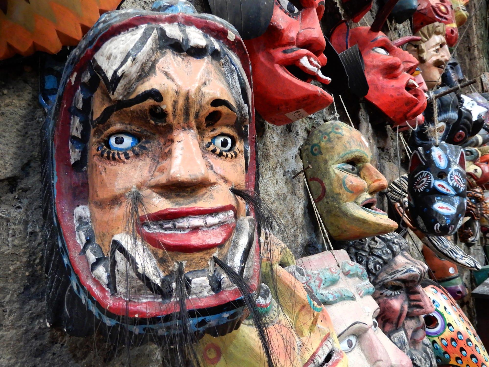 Market in Antigua, Guatemala.