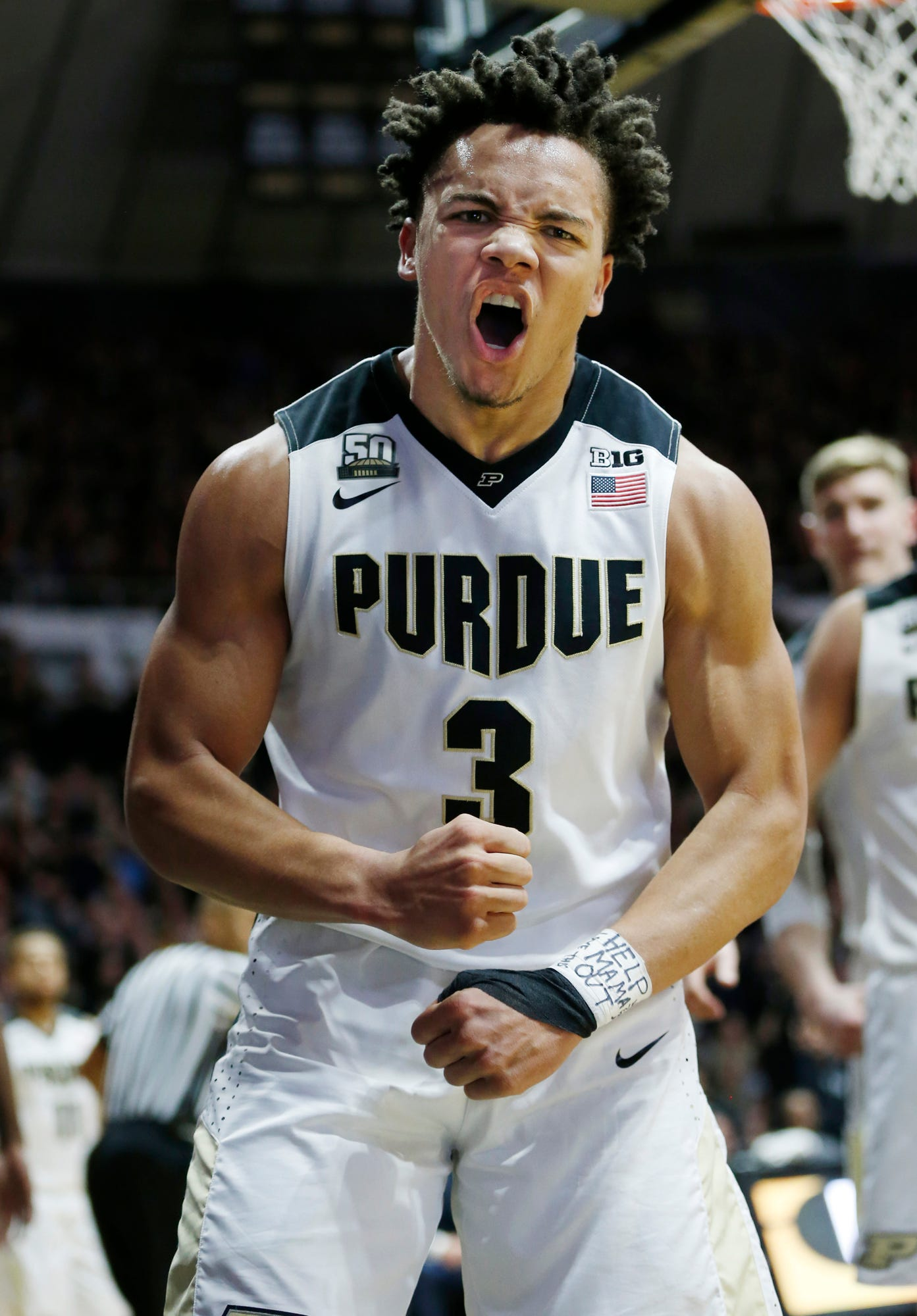 Purdue guard Carsen Edwards is among the nation's top scorers this season.