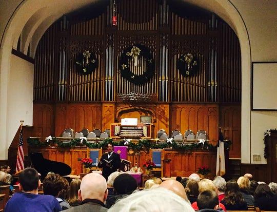 "Mid-Ohio Opera will perform ""Messiah"" at 7 p.m. Friday at First United Methodist Church, 12 N. Diamond St."