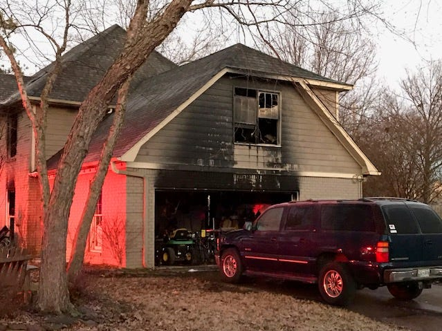 A fire on Autumn Winds Drive in Collierville overnight on Christmas Eve killed four people and injured two others.