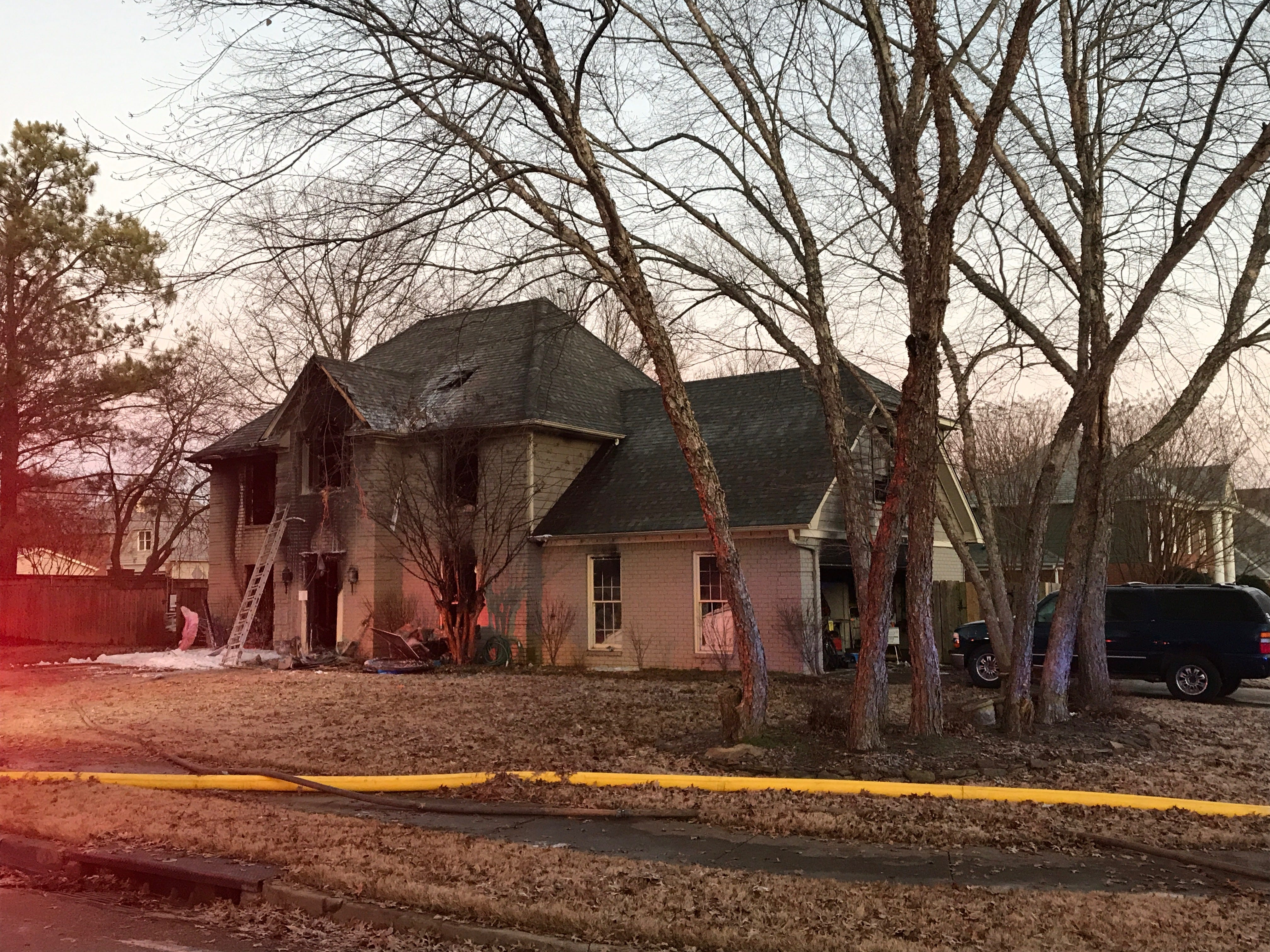 A fatal fire overnight in Collierville killed four people and injured two others on Autumn Winds Drive.