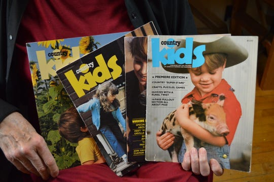 """Janet Halfmann was themanaging editor of Reiman Publications' """"Country Kids."""""""