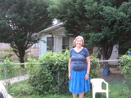 In 2014, Janet Halfmann visited the Natchez neighborhood where Lilly Ann Granderson owned a house after the Civil War.