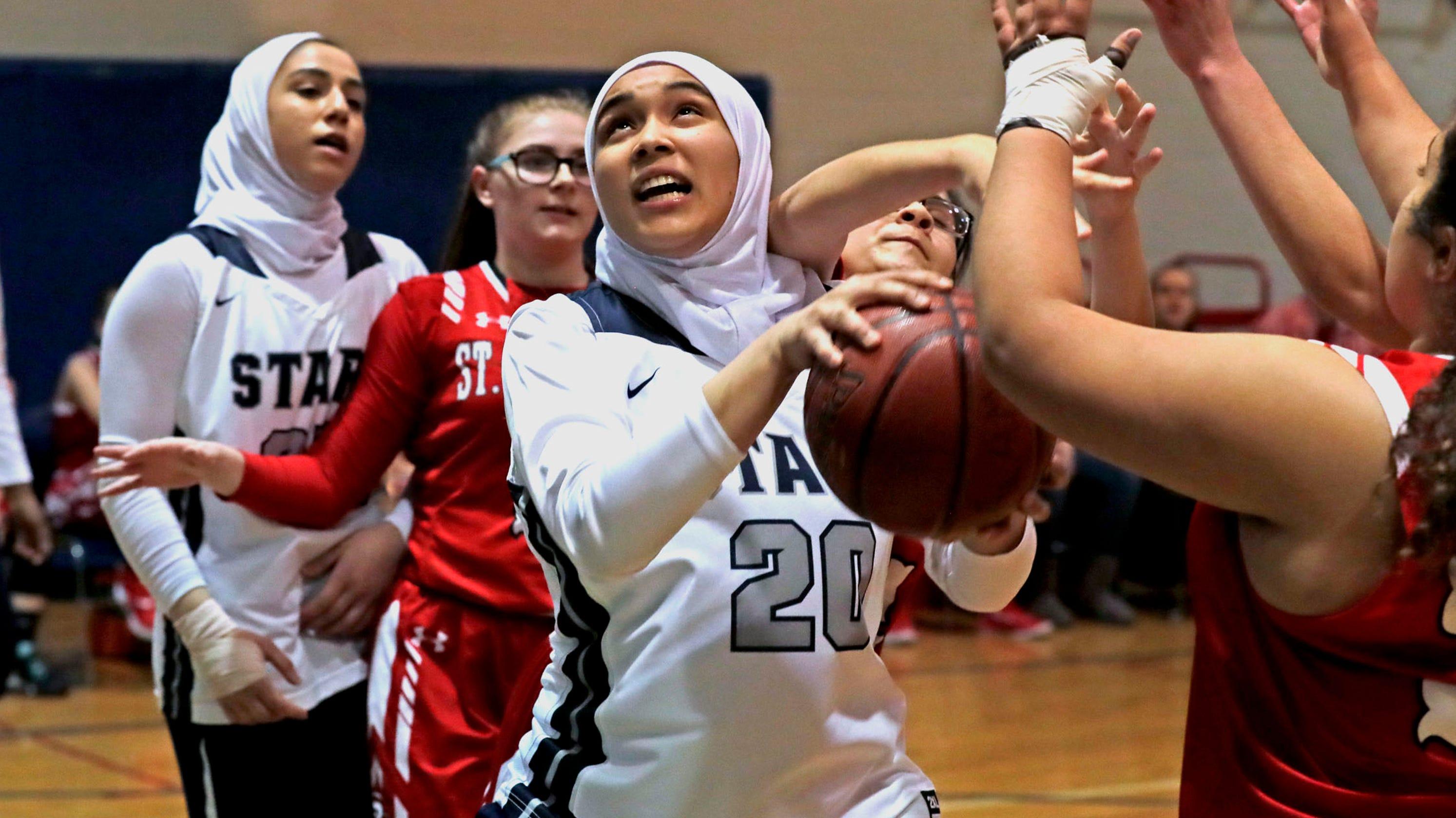 salam school s winning girls basketball team shatters stereotypes