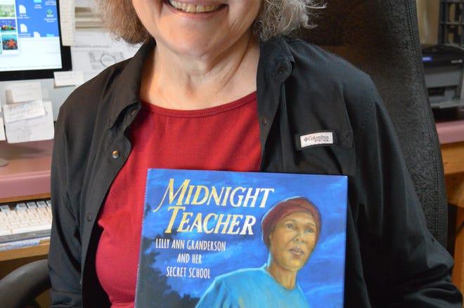 "Janet Halfmann, a South Milwaukee children's author, has written 42 books, including ""Midnight Teacher: Lilly Ann Granderson and Her Secret School."""