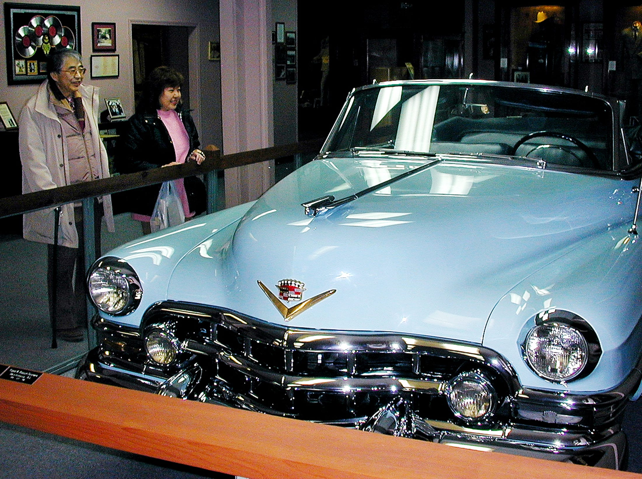 Charles Carr was driving Hank Williams in this Cadillac (shown at the Hank Williams Museum in Montgomery) when Williams died Jan. 1, 1953, as they were on their way to a concert in Canton, Ohio.