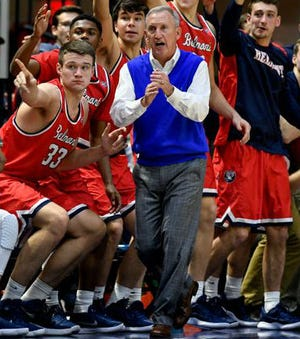 Belmont coach Rick Byrd has been nominated for the Naismith Memorial Basketball Hall of Fame.