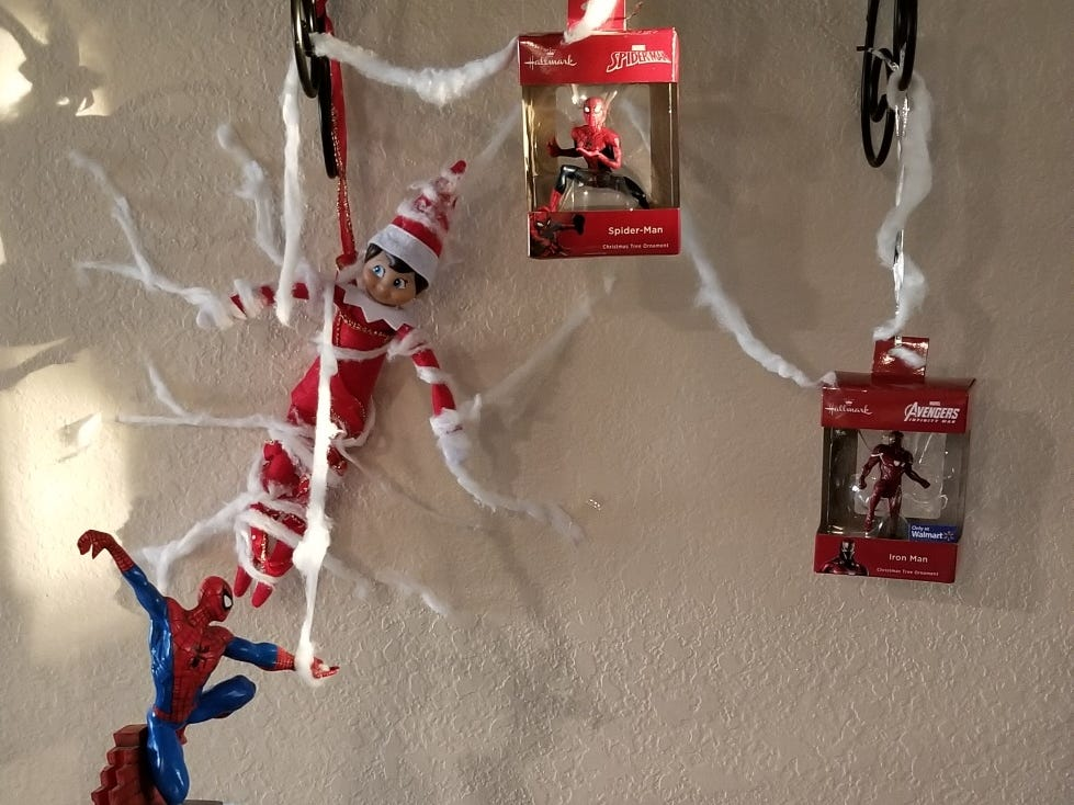 The McParlands love Jack our elf. Emmett, 5, and Thatcher, 3, adore their friend who is such a blast and a very cool cat.