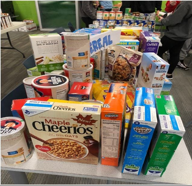 Local food pantries are in need.