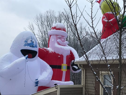 These guys are massive and bigger than a house. This is first year for these blowups.
