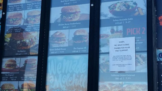 Schlotzsky's restaurant on East University Avenue in Las Cruces has announced its closure.