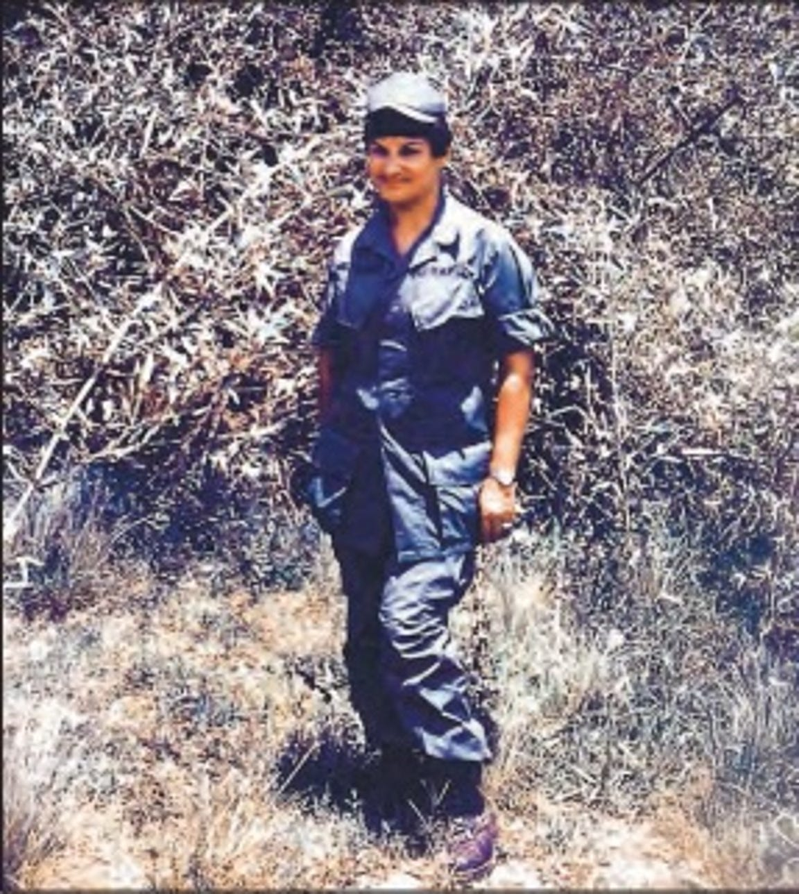 Frances Williams reported for duty in Long Binh, Vietnam in 1967, just weeks before the Tet offensive.