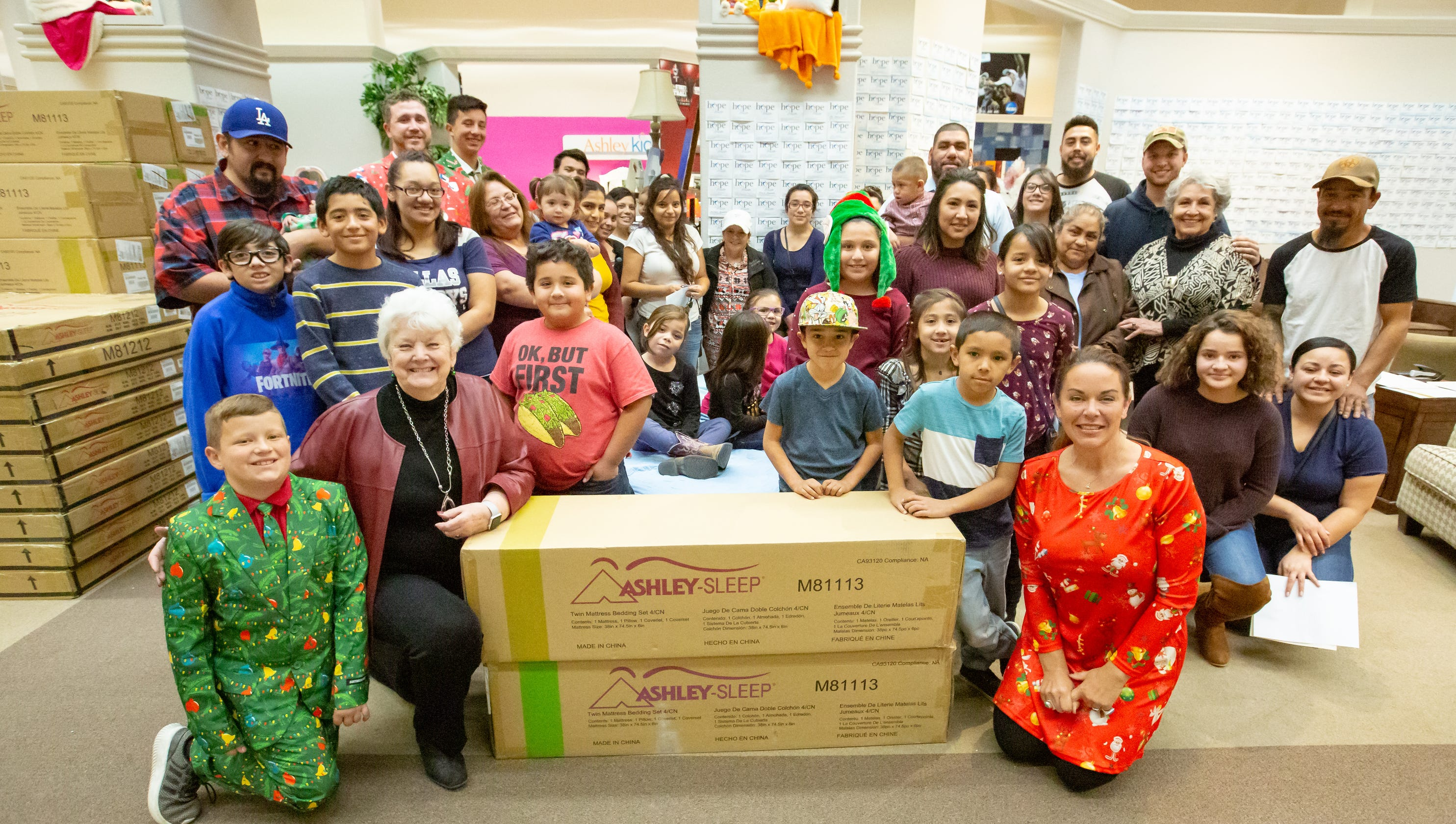 Holiday Program Gives Away 30 Beds To Families In Need In Las Cruces
