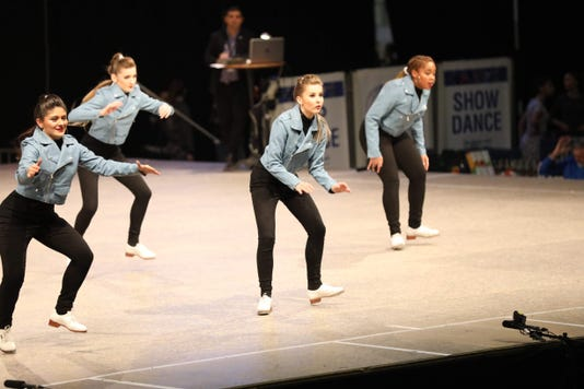Julian Performing With The 5th Place Adult Small Group At The Ido Tap Dance World Championships In Riesa Germany