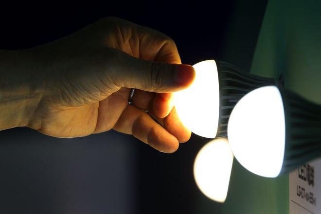 LED bulbs.