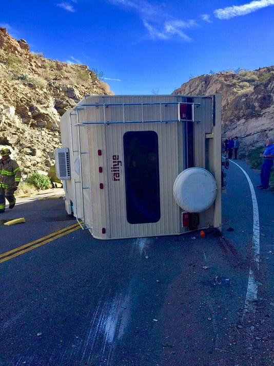 Hwy 74 Motor Home By Chp