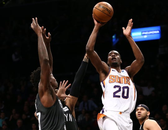 Josh Jackson is averaging 8.8 points with 3.9 rebounds, 2.2 assists and 1.0 steals per game for the Suns this season while primarily coming off the bench.